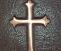 MATTHEWS GOTHIC CROSS USED FOR ANY CHRISTIAN RELIGION, A BEAUTIFUL ADDITION TO YOUR MEMORIAL